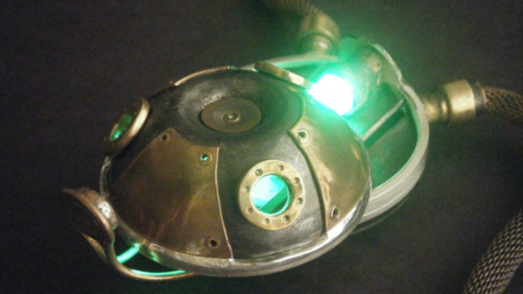 Flux Capacitor: An Exhibition of Steampunk Metalwork project video thumbnail
