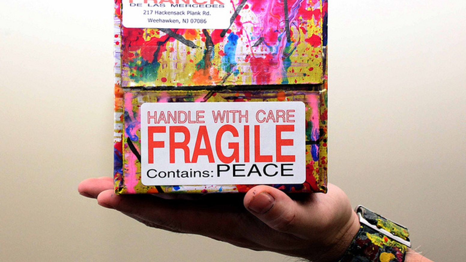 The Priority Boxes Spreading Peace One Box At A Time By Franck De