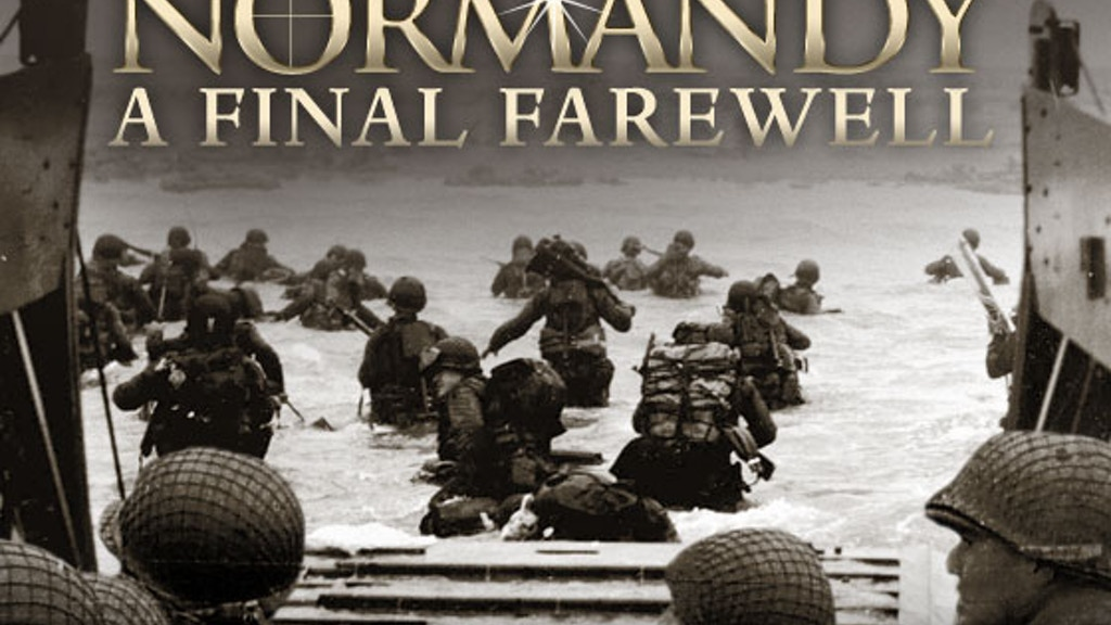 Normandy: A Final Farewell to WWII's Last Living Heroes project video thumbnail