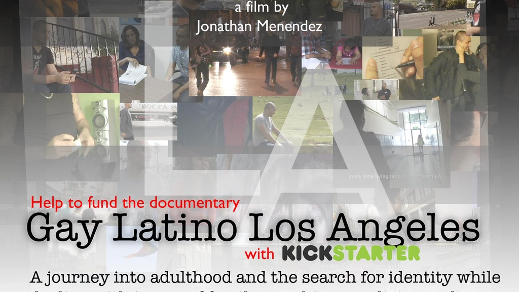 Gay Latino Los Angeles: A Story Of Three Young Men By