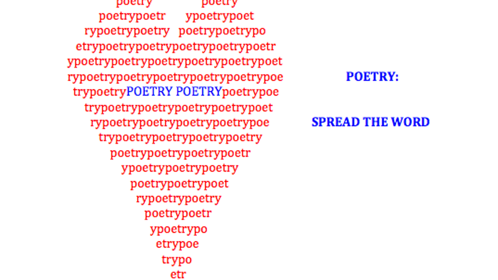 Poetry: Spread the Word project video thumbnail
