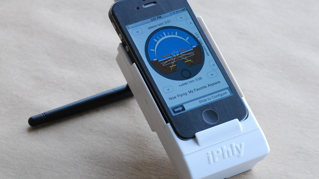iPhly: Radio Control with iPhone project video thumbnail