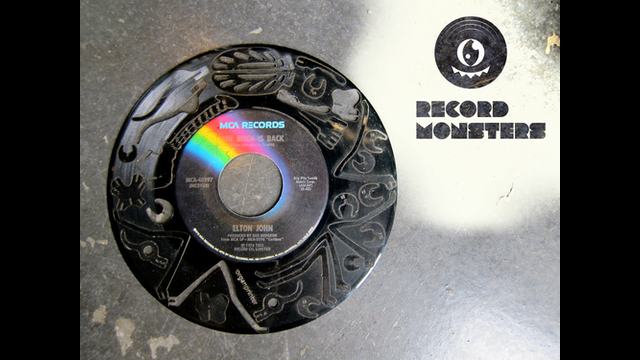Record Monsters Laser Cut Vinyl Record Puzzles By Andrew Hyde Kickstarter