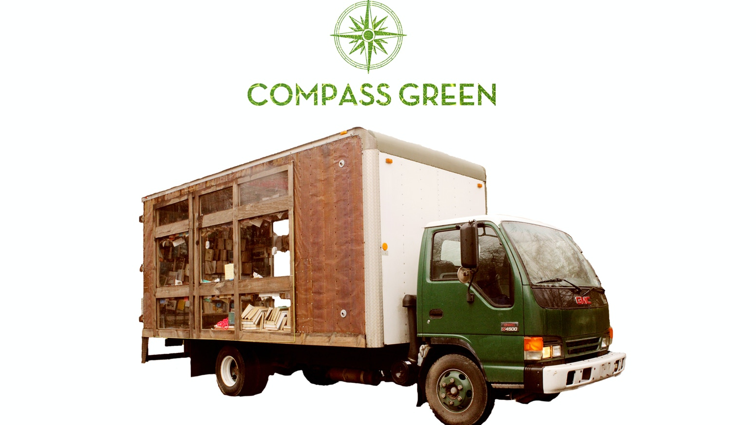 Compass Green is a greenhouse on wheels designed to teach sustainability to new audiences across the country.