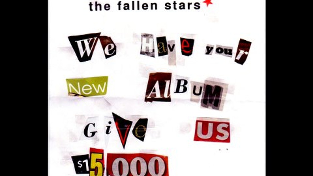 The Fallen Stars new album being held for ransom! project video thumbnail