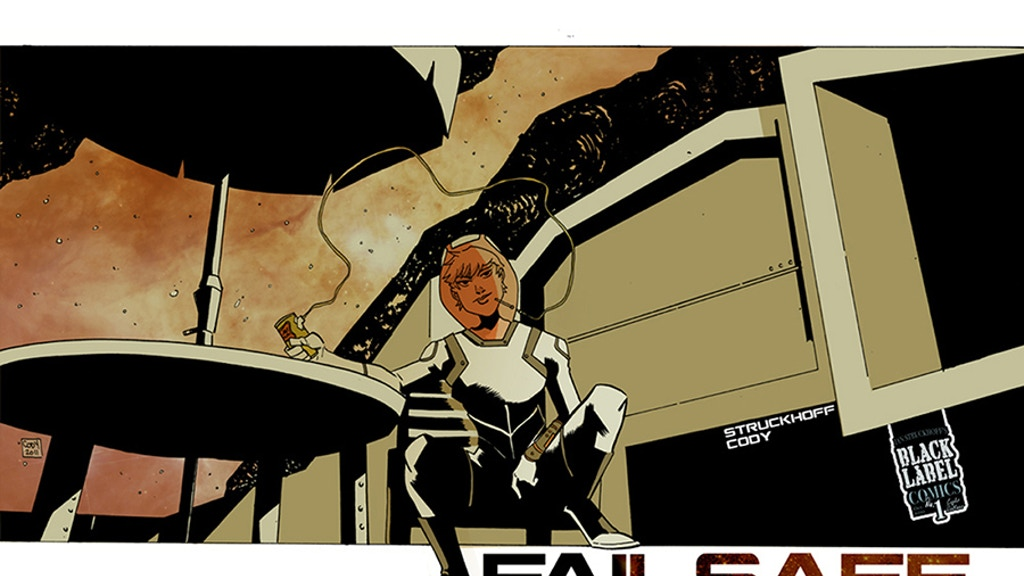 FAILSAFE one-shot from Black Label Comics project video thumbnail