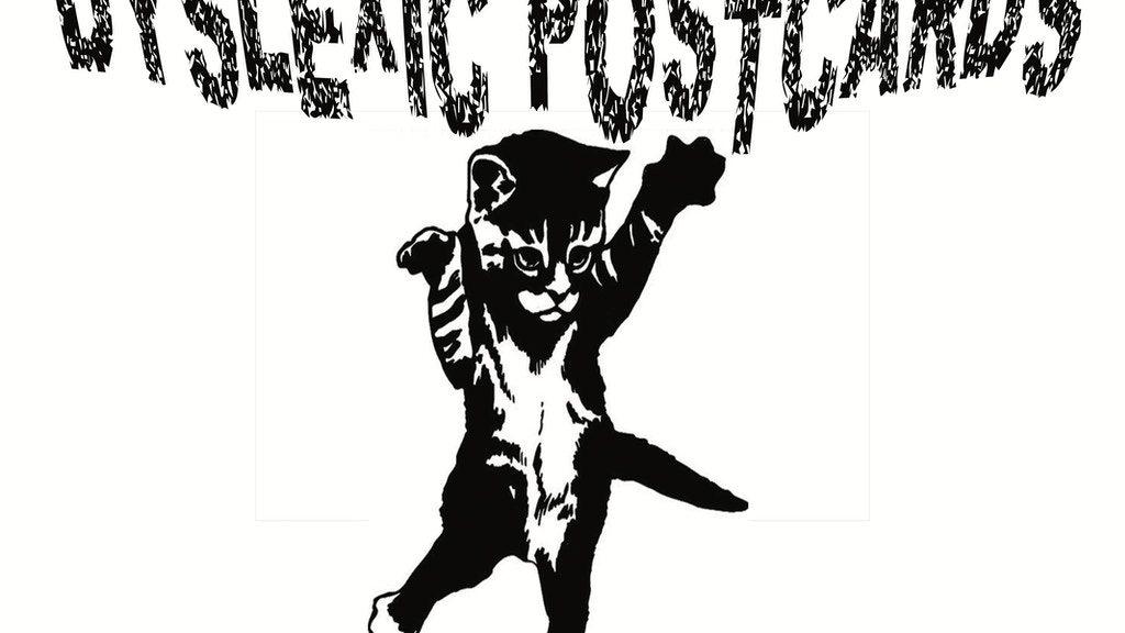 Project image for Support Dyslexic Postcards on their East Coast Tour!!!