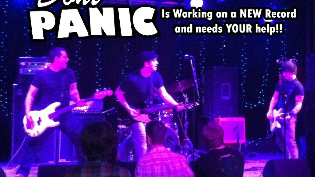 Don't Panic wants to make a new record! project video thumbnail
