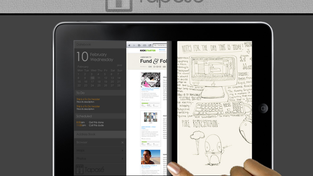 Taposé: Bringing the Courier to the iPad project video thumbnail