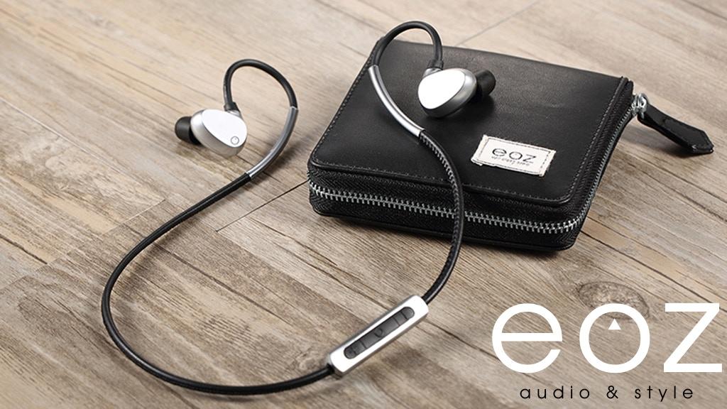 EOZ One - The Most Stylish Bluetooth Earphones. Ever. miniatura de video del proyecto