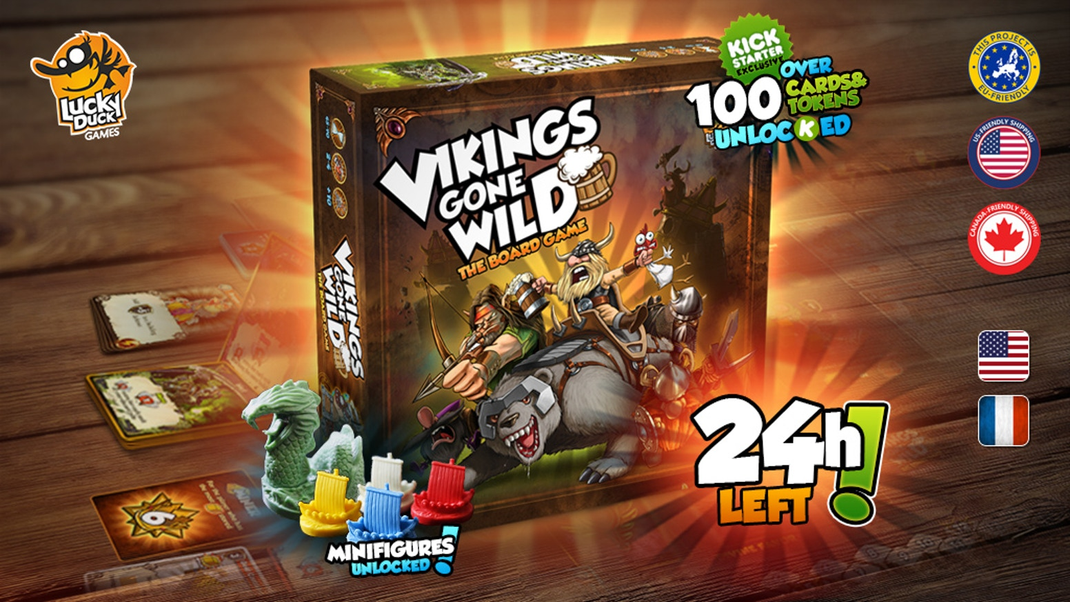 Vikings Gone Wild - The Board Game by Lucky Duck Games ...