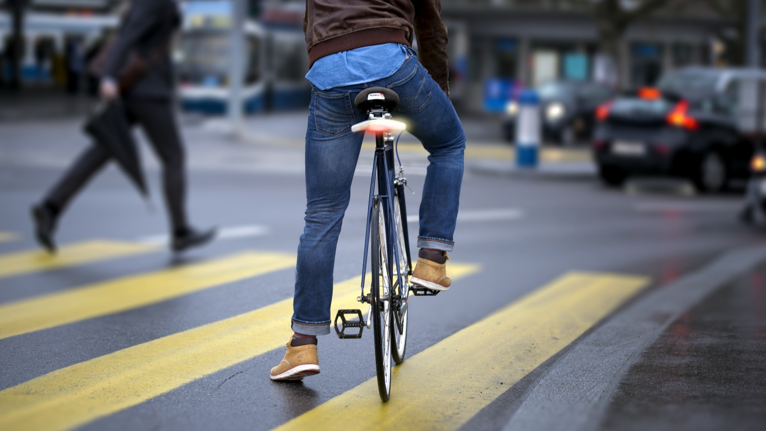 Blinkers is the one thing that was missing for cyclists to be safer and to be a natural part of the road.