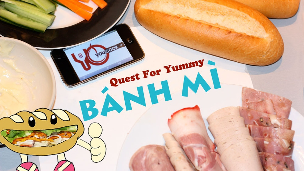 My Quest for Yummy Banh Mi project video thumbnail