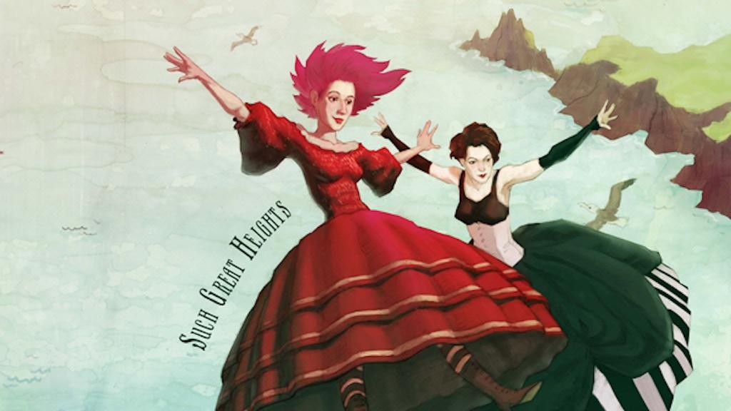 "Kim Boekbinder and Amanda Palmer - ""Such Great Heights"" project video thumbnail"