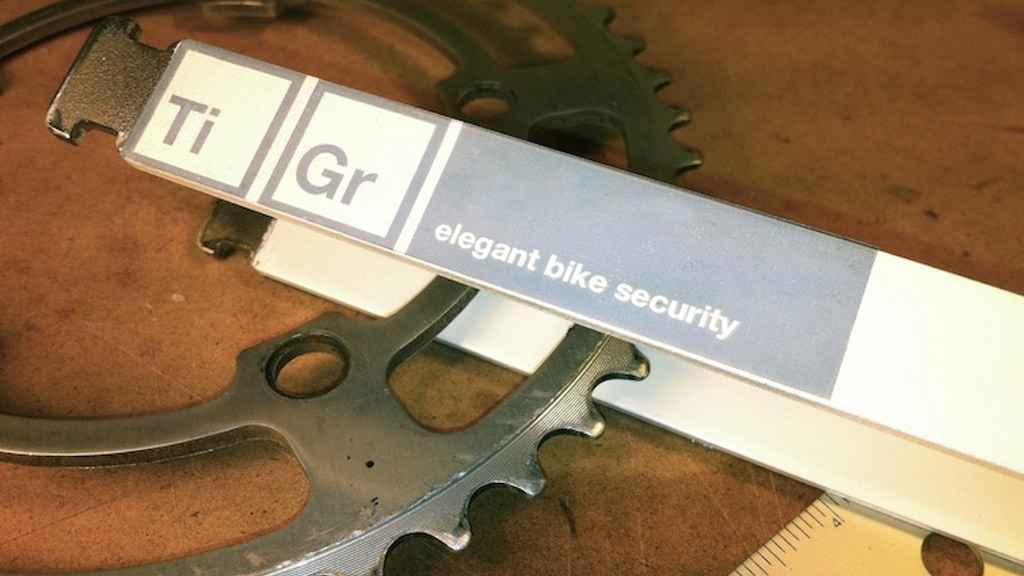 TiGr: Titanium Lock as Cool as your Bike project video thumbnail