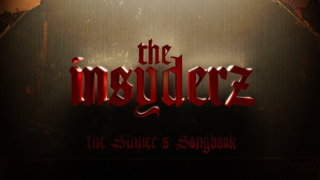 "The Insyderz new album ""The Sinner's Songbook"" project video thumbnail"