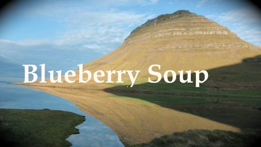 Blueberry Soup project video thumbnail