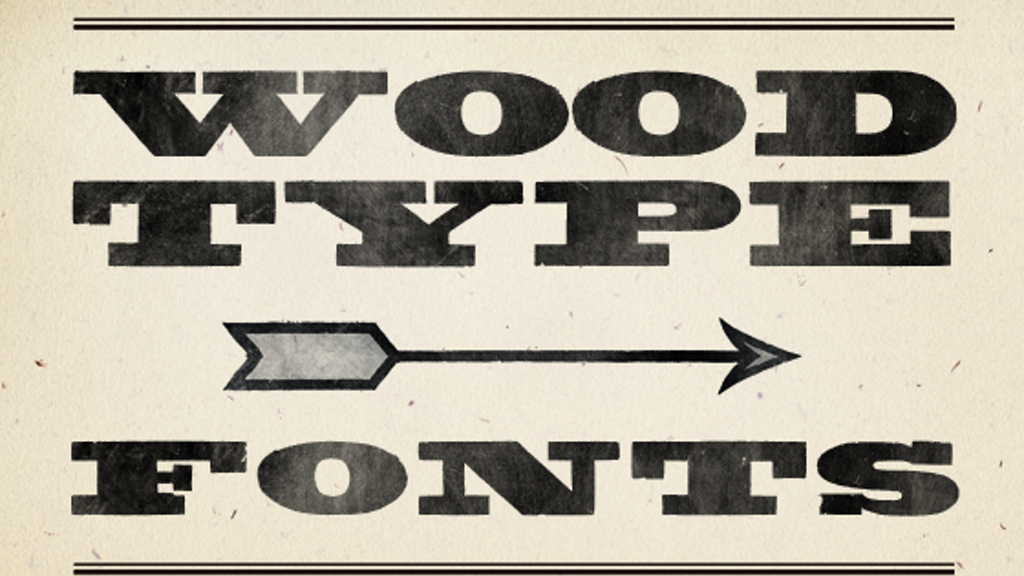 New Digital Fonts From Rare Letterpress Wood Type By Matt