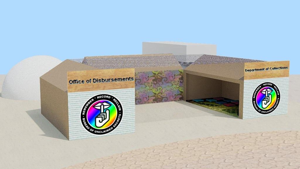 Project image for The Bureau of Unclaimed Secrets - Burning Man 2011