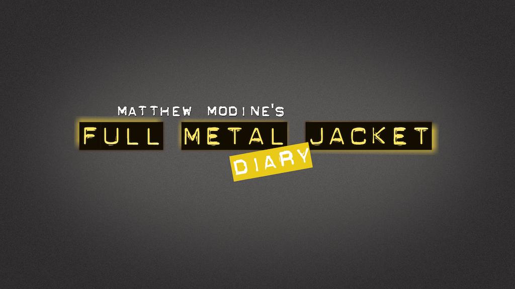 "Matthew Modine's ""Full Metal Jacket Diary"" - iPad App project video thumbnail"