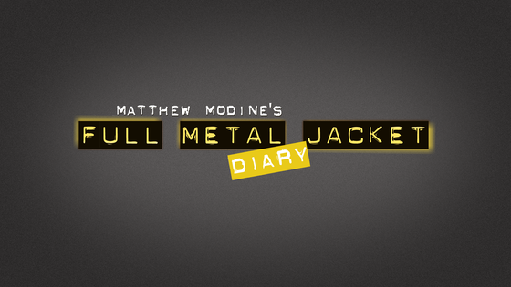 "Matthew Modine's ""Full Metal Jacket Diary"" - iPad App project video thumbnail"