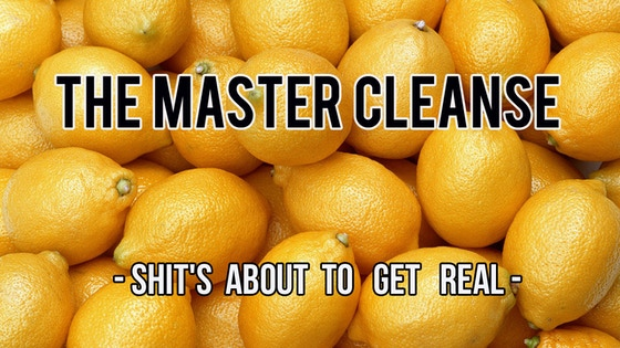 """""""The Master Cleanse"""" - Short Film project video thumbnail"""