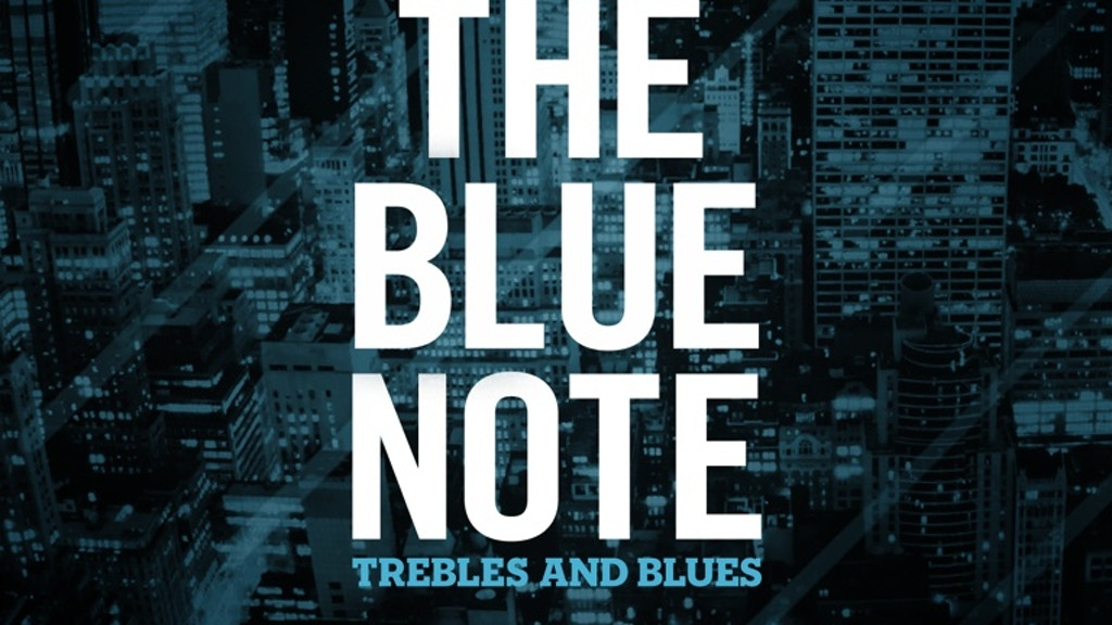 """Trebles and Blues' Debut Instrumental Album, """"The Blue Note"""" project video thumbnail"""