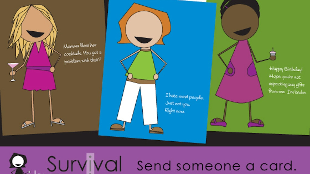 Survival By Design Cards for the Wicked Smart and Sassy project video thumbnail