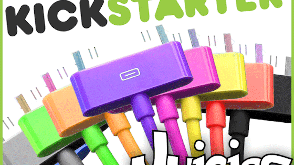 Juicies - colorful cables for iPod, iPhone & iPad project video thumbnail