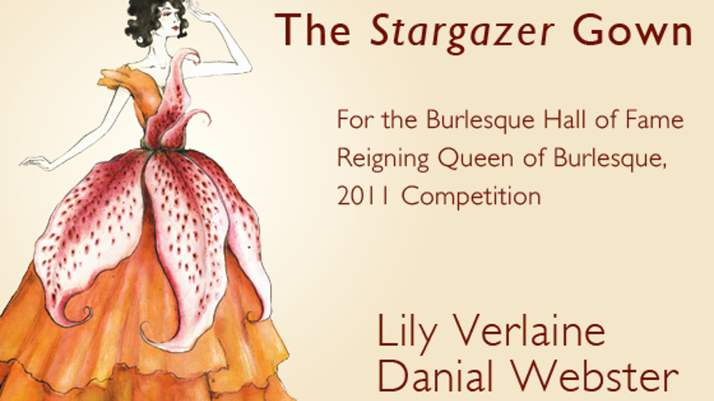 Lily Verlaine and Danial Webster: Stargazer Gown project video thumbnail