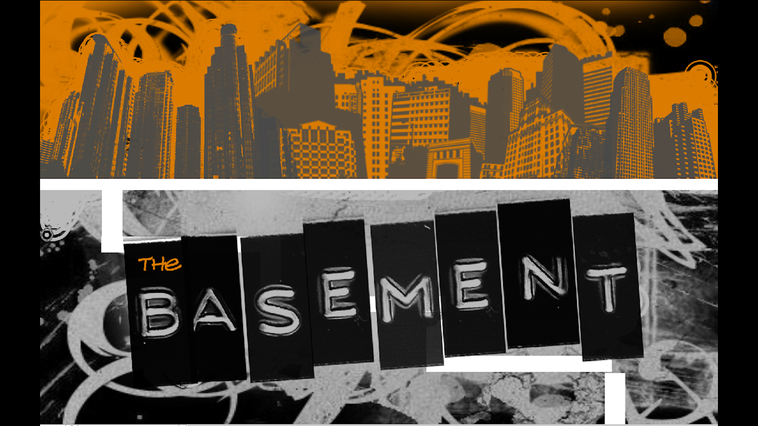 people laugh we are a sketch group with a show called the basement