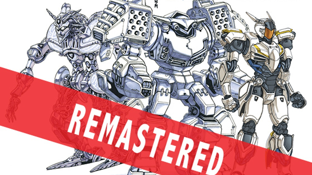 MECHA ZONE robot art book stomping your way! project video thumbnail