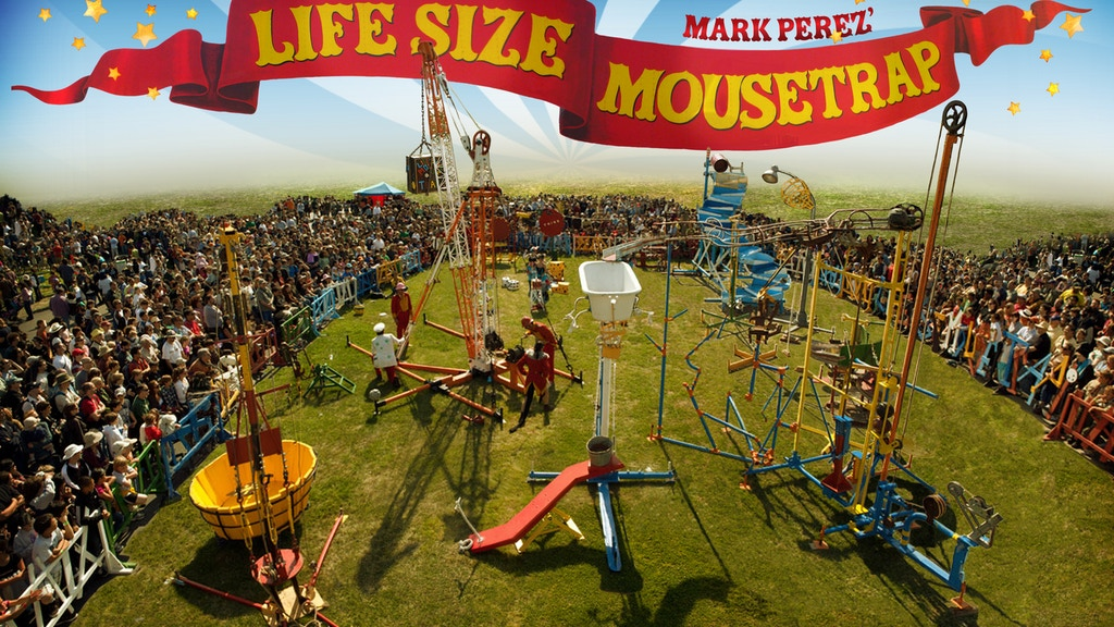 The Lifesize Mousetrap's 2011 tour powered by VEGETABLE OIL! project video thumbnail