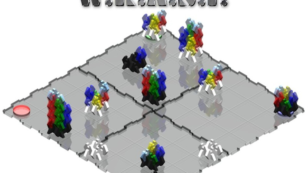Project image for W.R.A.S.P. Abstract Build & Battle Strategy Board  (W.I.P.)