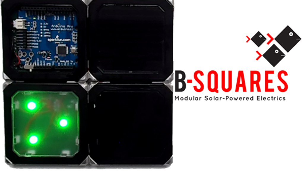 B-Squares:  Modular Solar Powered Electrics. project video thumbnail