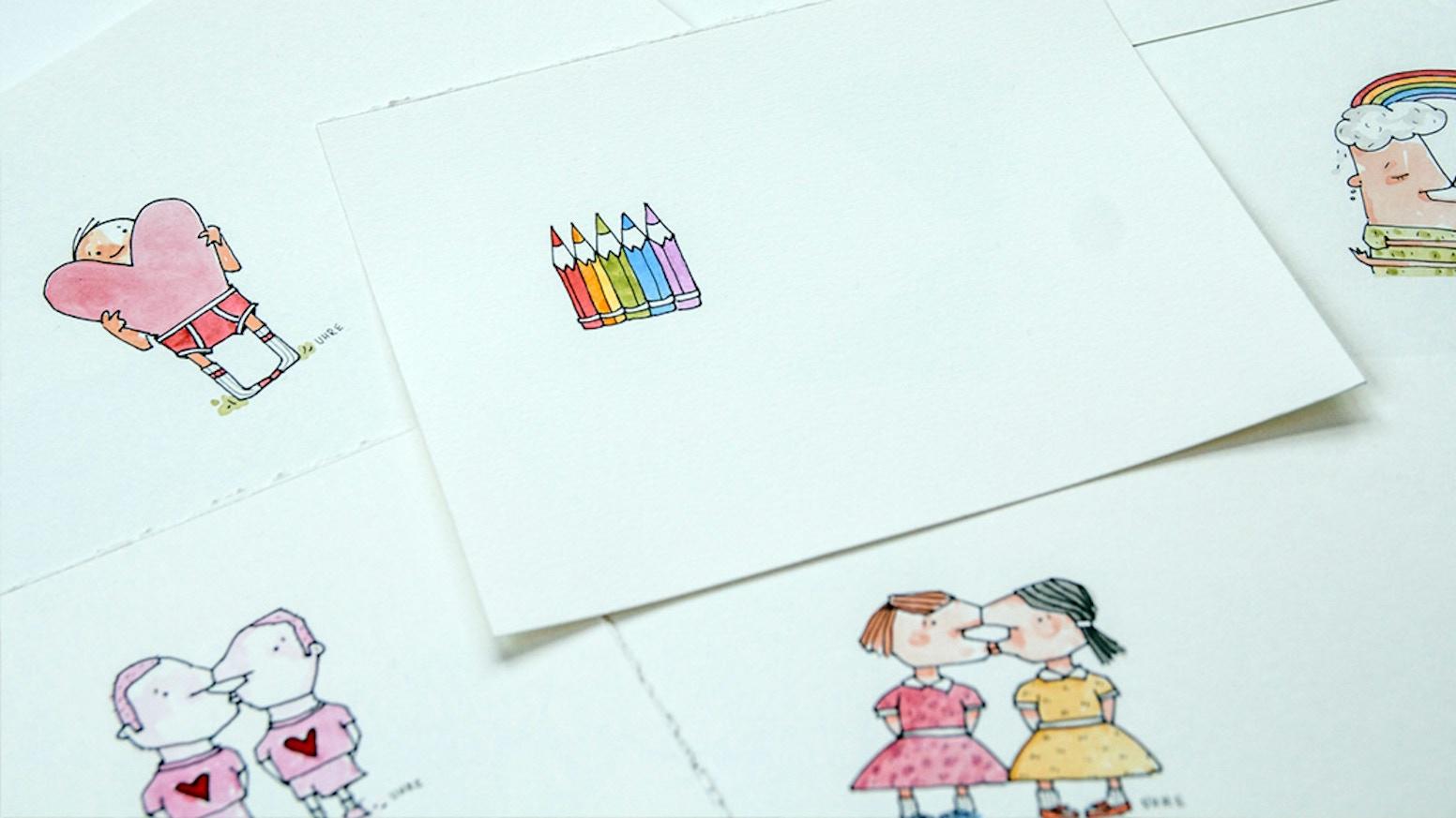 Mark It Proud Lgbtq Inclusive Greeting Cards By Daniel Malen Mark