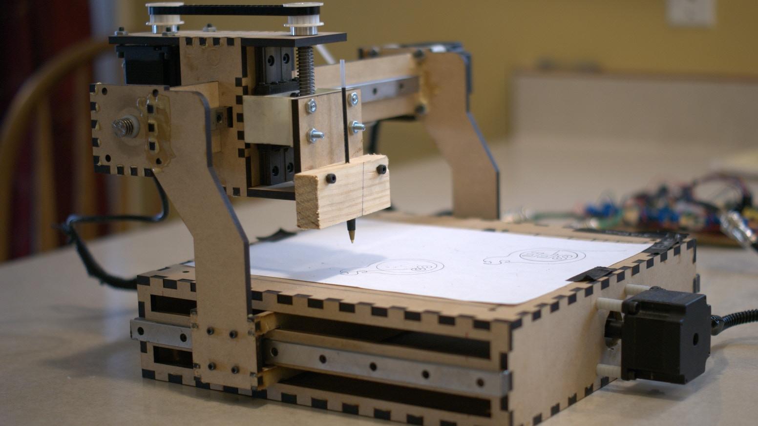 Project ShapeOko: a $300 complete cnc machine  by Edward