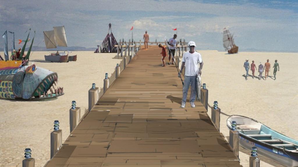 The Pier - Burning Man 2011 Art Installation project video thumbnail