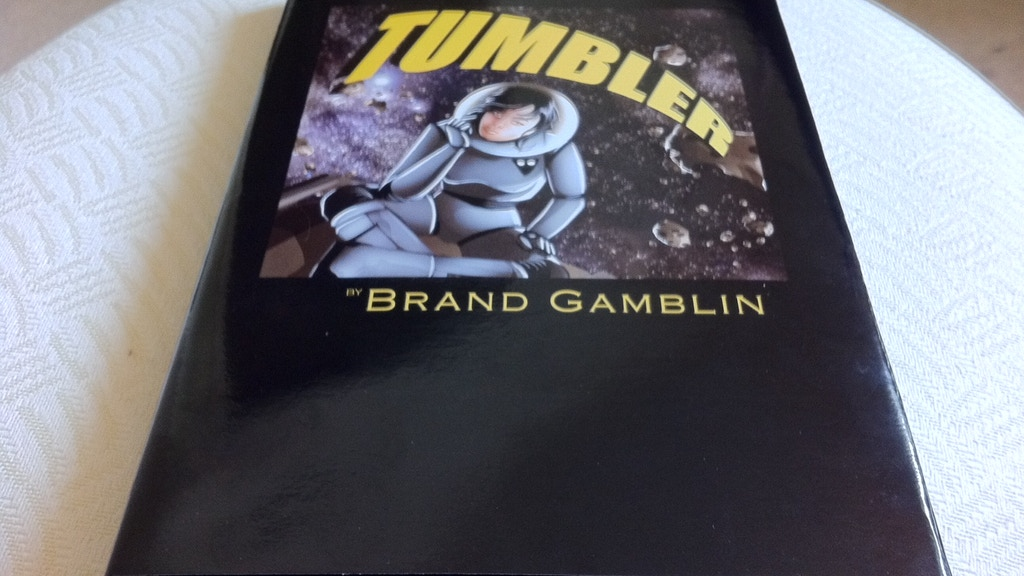 Edit and Cover Brand Gamblin's New Novel project video thumbnail
