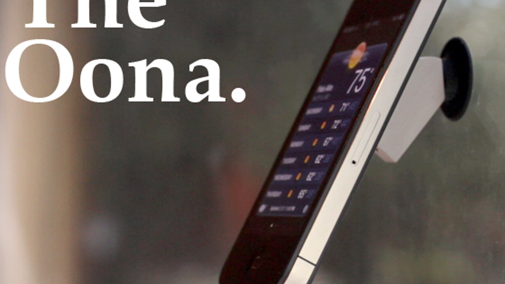 The Oona: Whatever You Need It To Be project video thumbnail