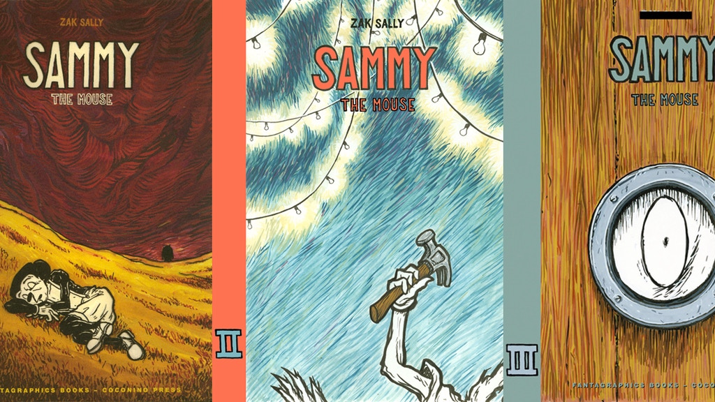 "Zak Sally's ""Sammy The Mouse"" Vol. 1, from La Mano books project video thumbnail"