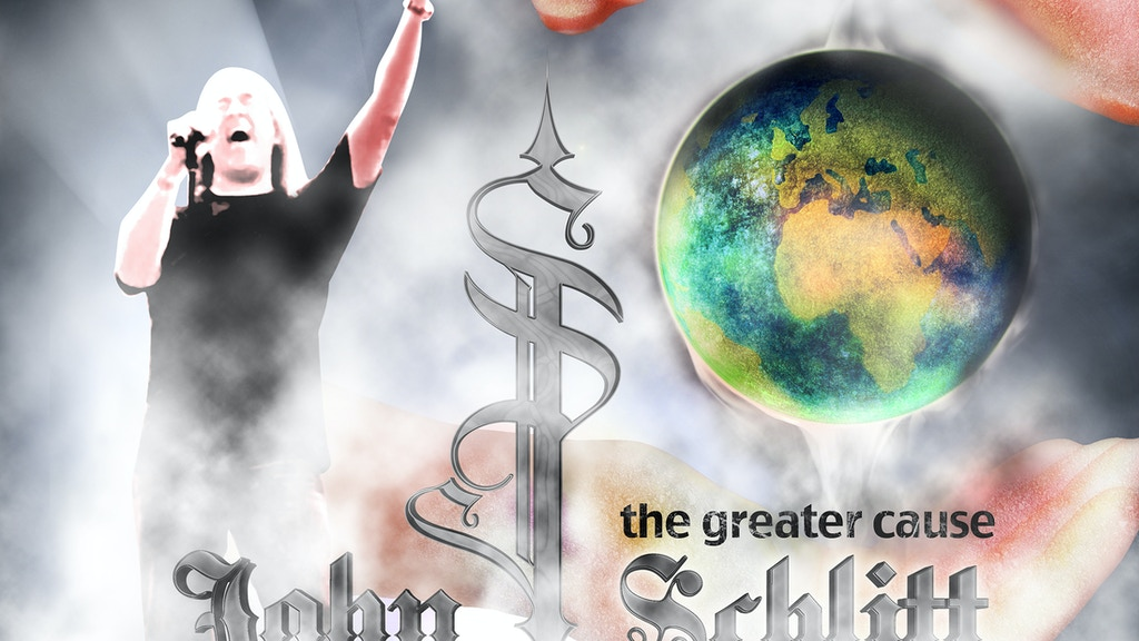 "John Schlitt Rock CD – ""The Greater Cause"" project video thumbnail"