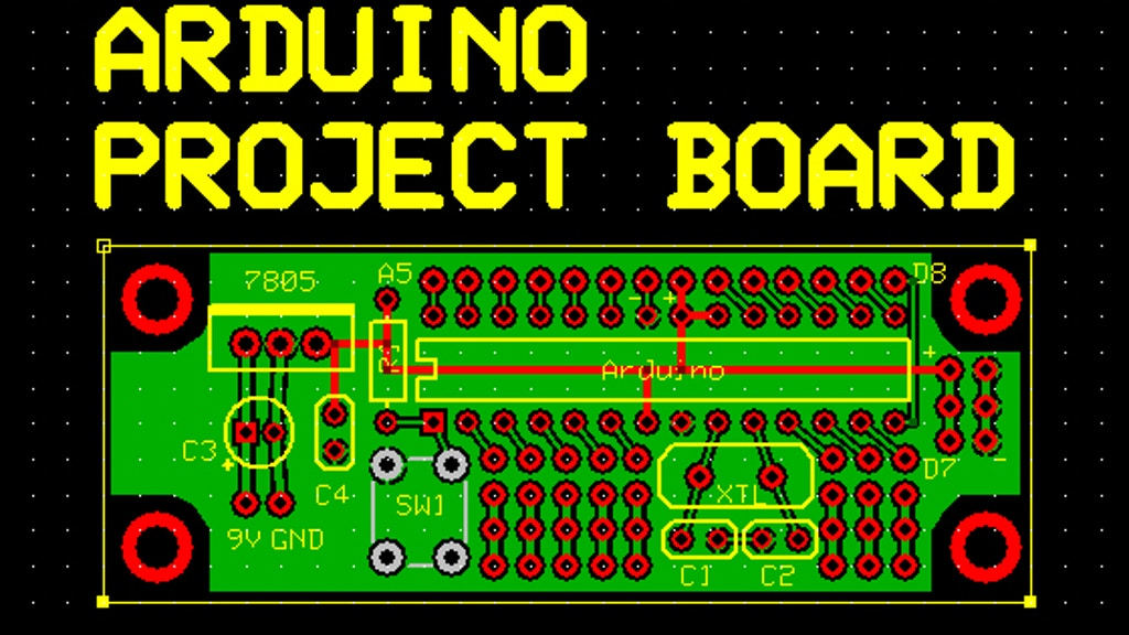 Arduino Project Board project video thumbnail