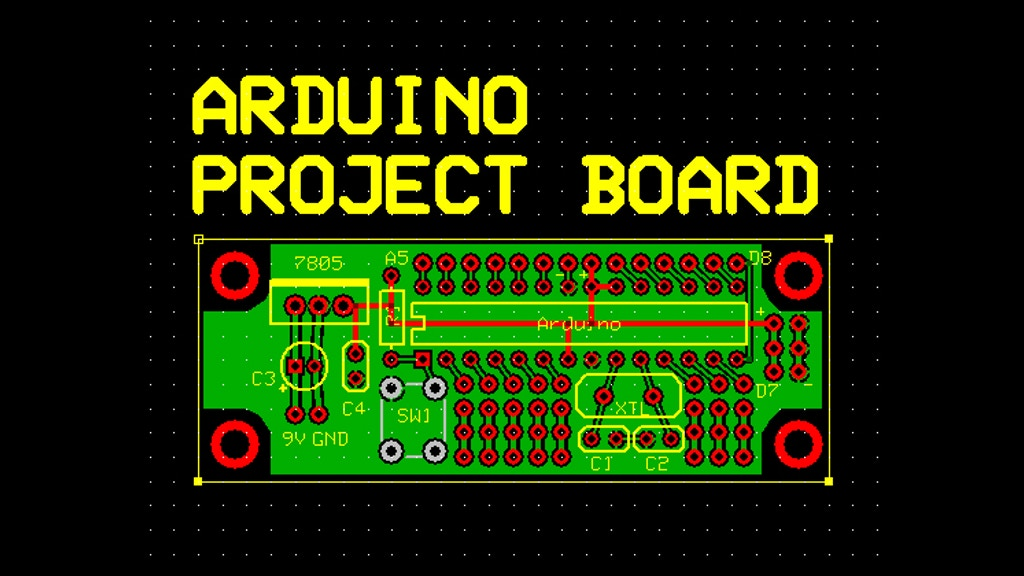Arduino project board by randy sarafan —kickstarter