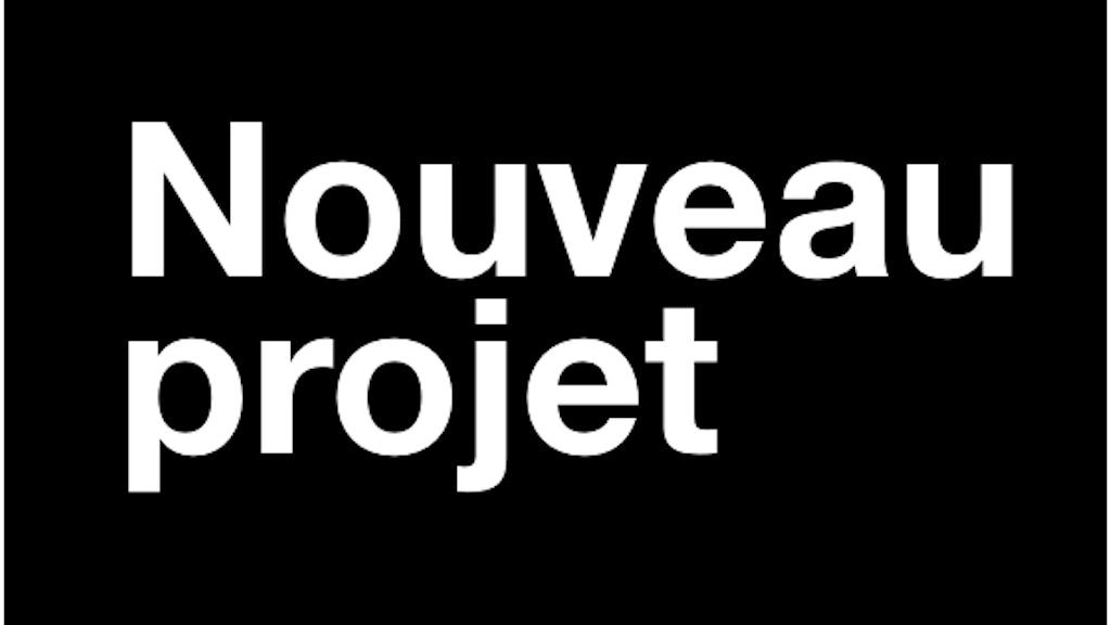 Nouveau projet, numéro 1 project video thumbnail