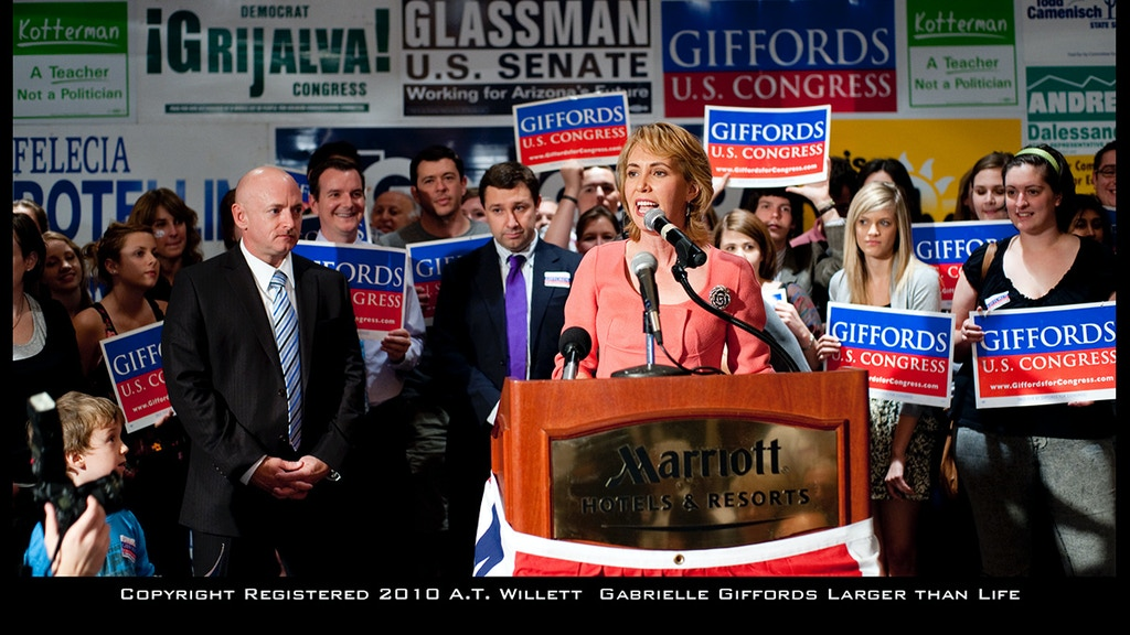 """Gabrielle Giffords """"Larger Than Life"""" Museum Photographs project video thumbnail"""