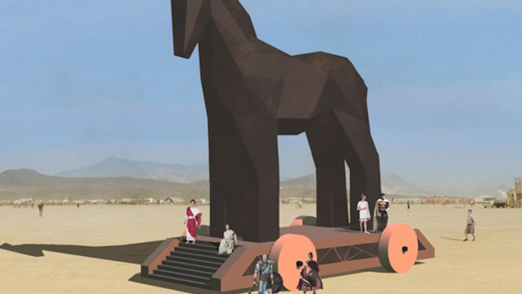 The Trojan Horse Project - Burning Man 2011 project video thumbnail