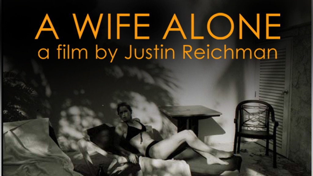 A WIFE ALONE - A Dark Thriller by Justin Reichman project video thumbnail