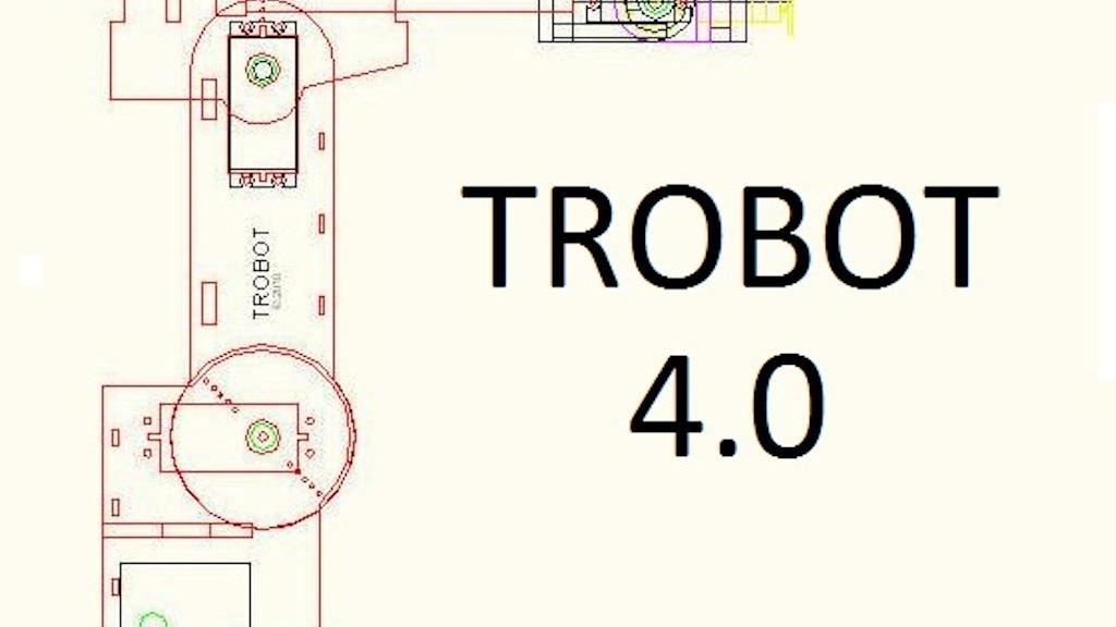 TROBOT 4.0: A Miniature Articulated Robot project video thumbnail