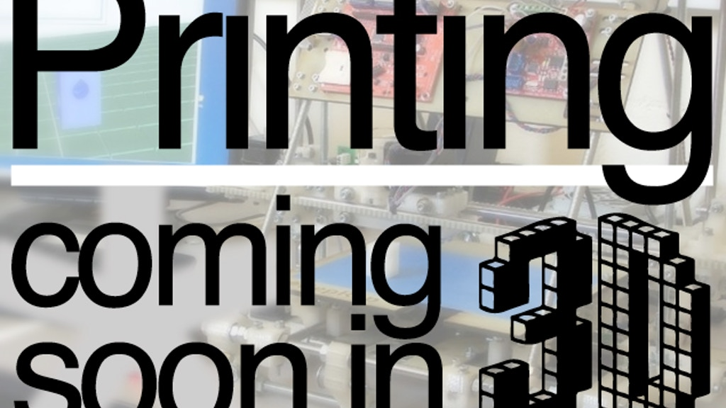 3D Printing for Everyone - Making the RepRap Easier to Build project video thumbnail